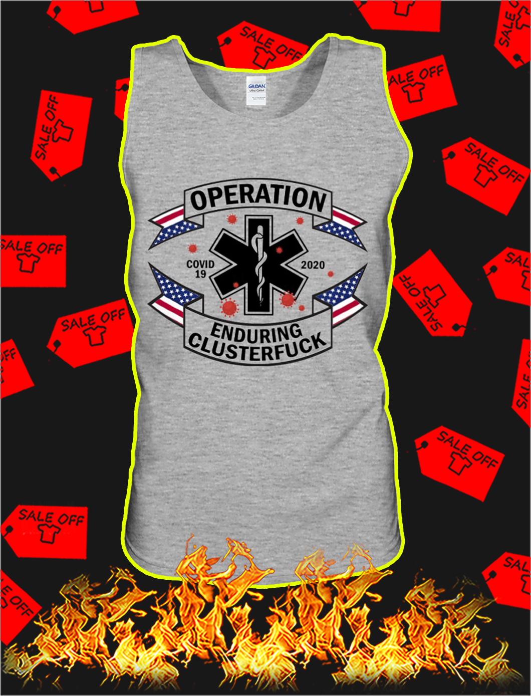 Operation enduring clusterfuck covid 19 2020 tank top