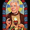 Patron saint of food poster