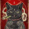 Poster Smoke Catnip Hail Lucipurr