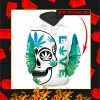 Pretty Little Pothead Skull Weed 3d custom name personalize Hoodie