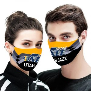 Utah Jazz NBA face mask