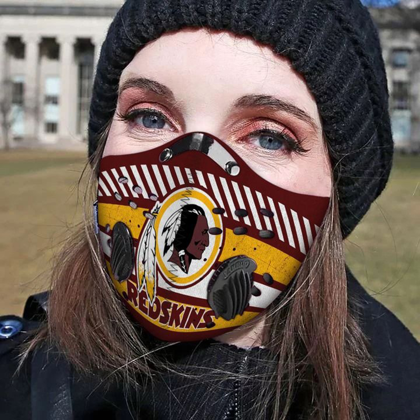 Washington redskins filter face mask - Picture 1