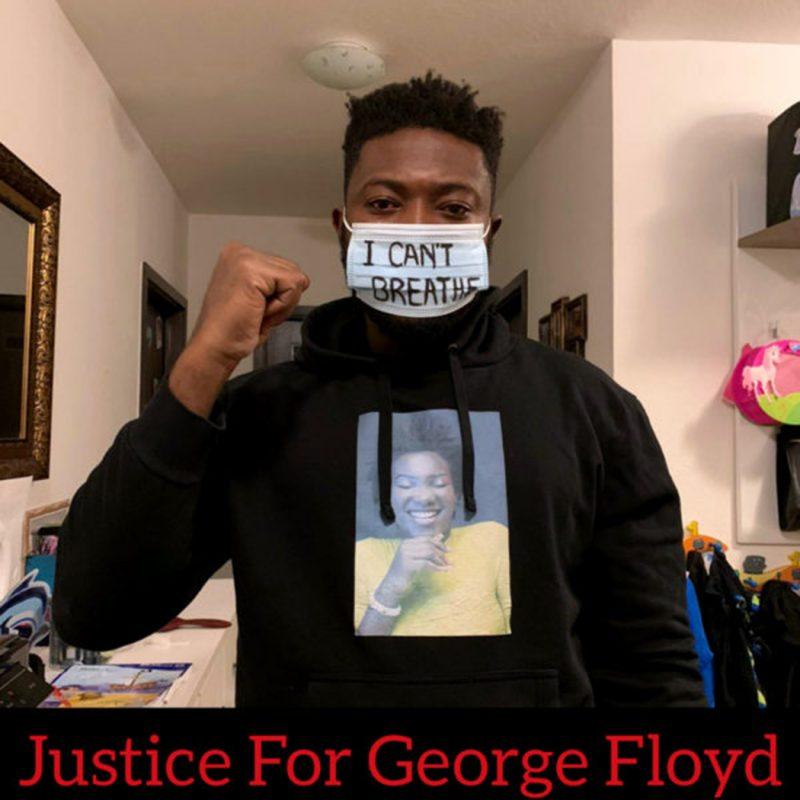 Black lives matter george floyd face mask