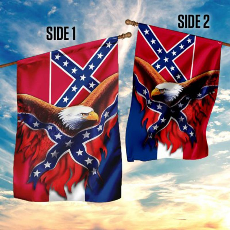 Eagle Mississippi Confederate American History Flag