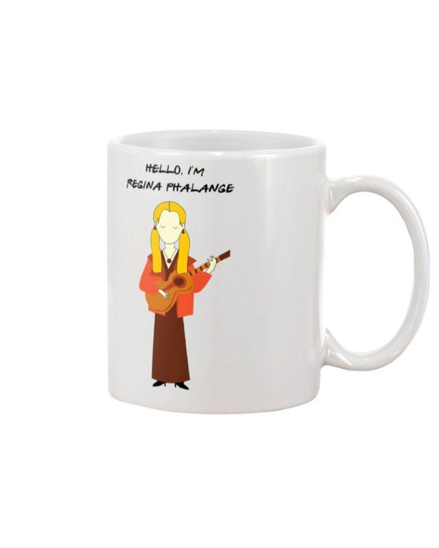 Hello i'm regina phalange mug
