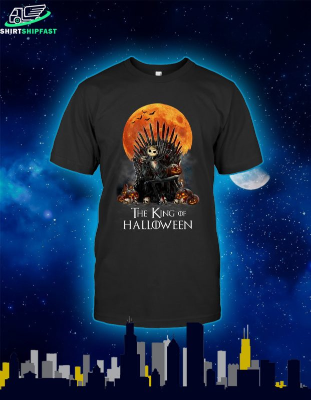 Jack skellington the king of halloween shirt