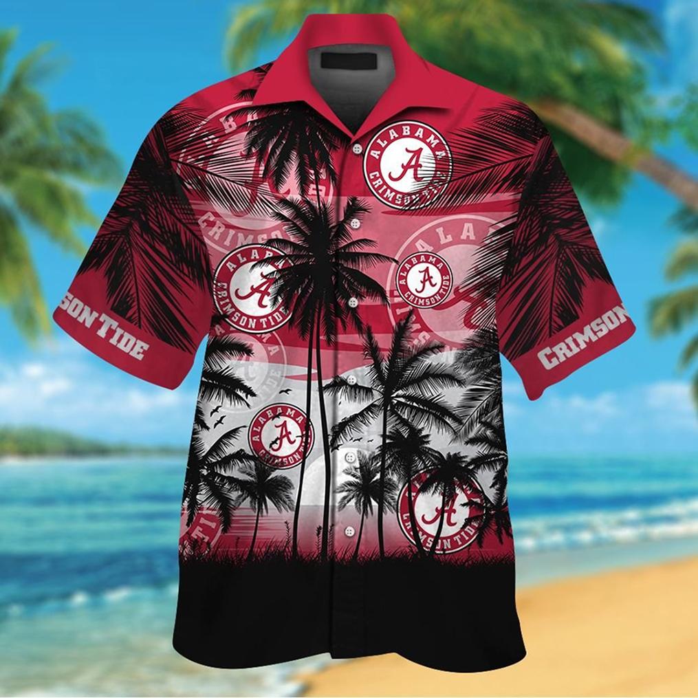 Alabama Crimson Tide tropical hawaiian shirt - Picture 3