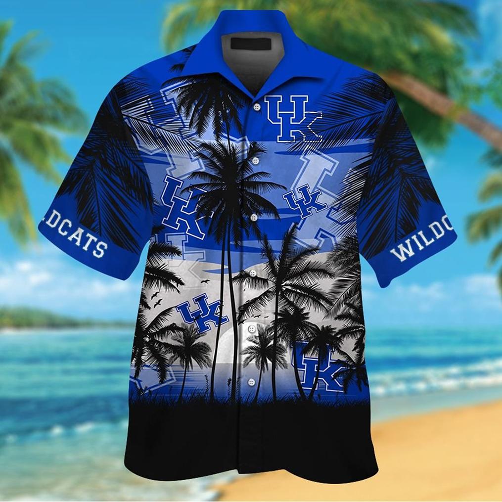 Kentucky Wildcats tropical hawaiian shirt - Picture 3