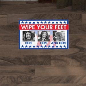 Wipe your feet here and here doormat - Picture 3
