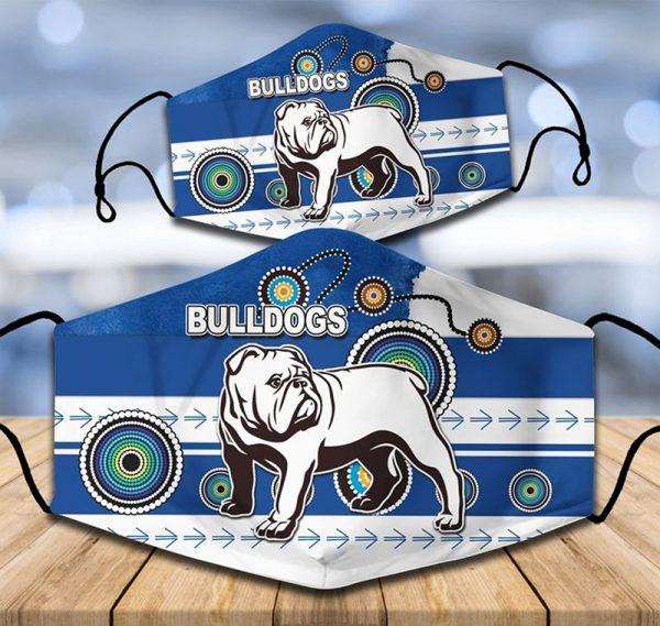 Canterbury-Bankstown Bulldogs NRL face mask