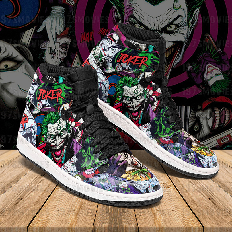 Joker JD sneakers custom shoes - Picture 3