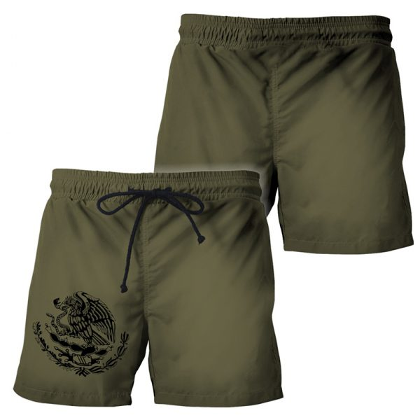 Personalized Mexican 3d all over printed short